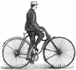 safety bicycle from Wikipedia