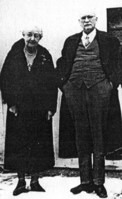 Dr. Sam Fraser and his wife