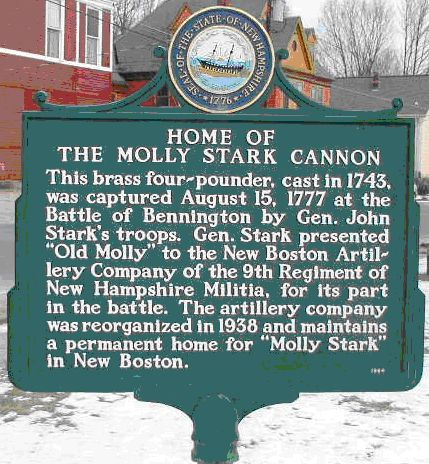 Molly Stark historical marker