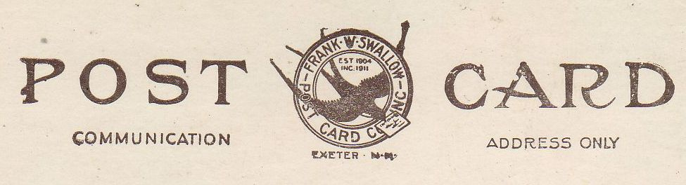 Frank W. Swallow postcard 1