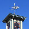 Weathervane on Old Engine House