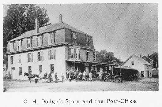 C.H. Dodge's store in 1897