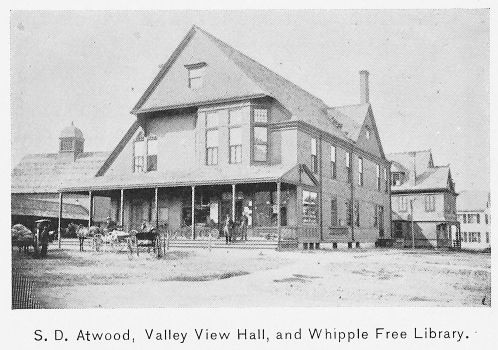 S.D. Atwood's store in 1897