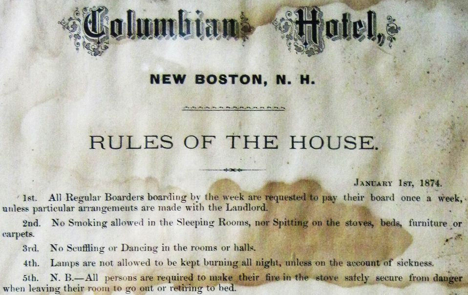 columbian-hotel-rules